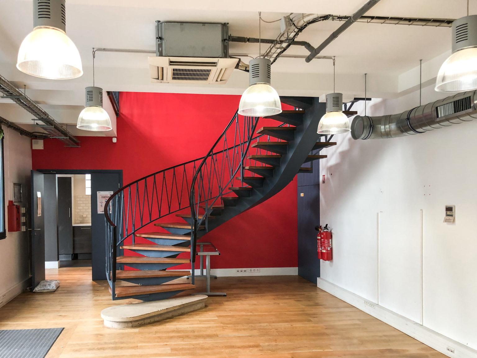 Châtillon escalier